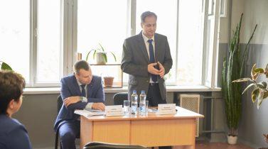 Встреча замглавы администрации района спроживающими вобщежитии ОАО «Минский завод шестерён»